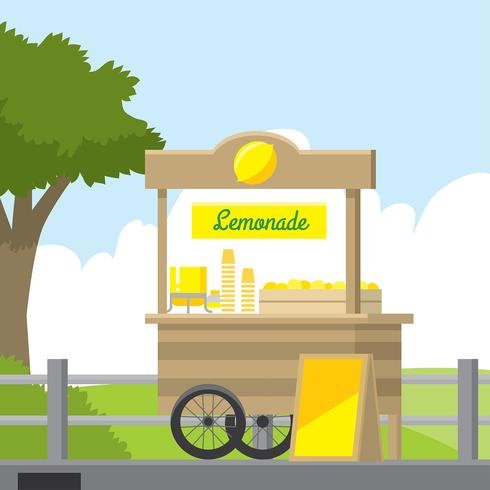 Lemonade Concession Stand Free Vector