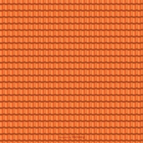 Terrakotta-Dachziegel-Vektor-nahtloses Muster