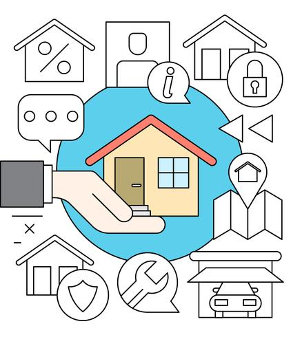 Gratis Linear House Insurance Collection