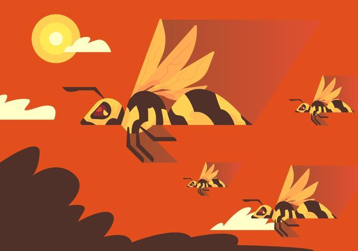 hornet migrering