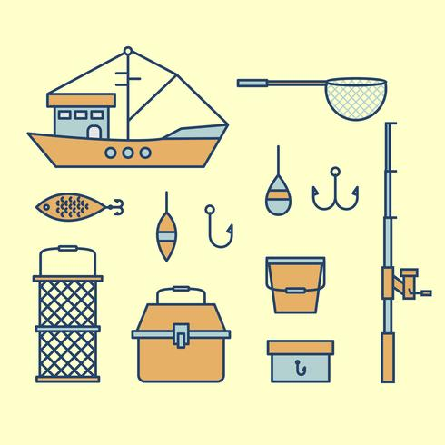 Free Fishing Vector