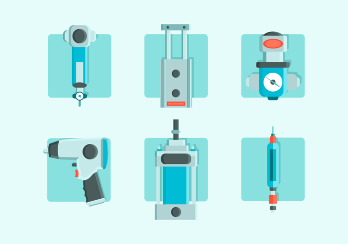 Pneumatic Free Vector Pack
