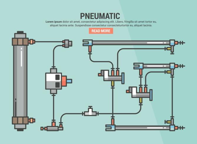 Pneumatisk Infographic