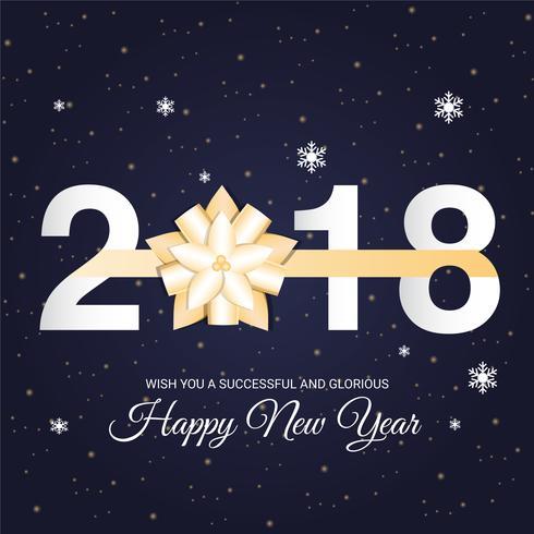 Happy New Year Flat Design 95