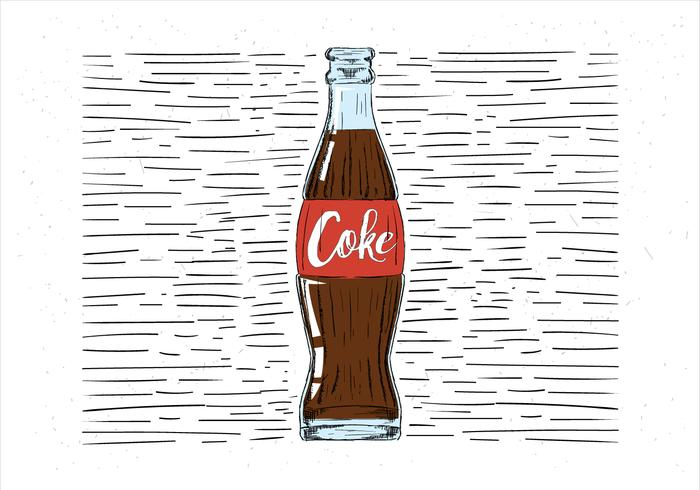 Hand Drawn Coke Illustration