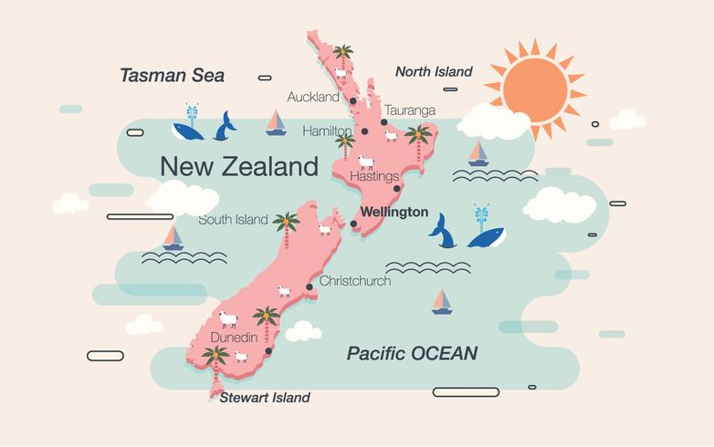 Hamilton New Zealand Map.New Zealand Map Vector Download Free Vector Art Stock Graphics
