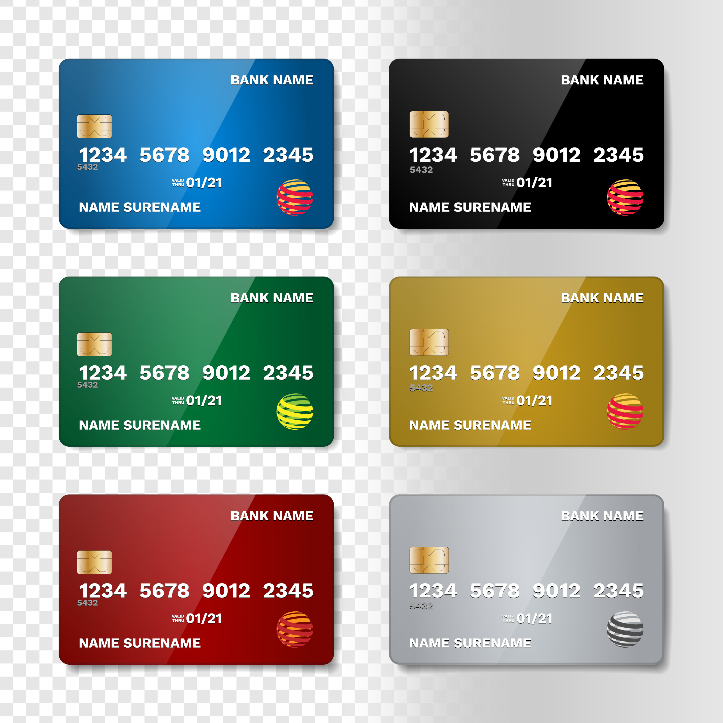 Credit Card Free Vector Art 49159 Free Downloads