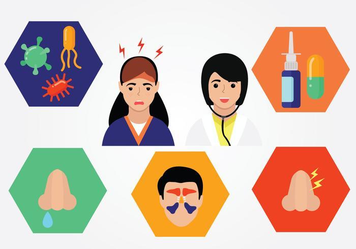Paquet de vecteur de sinus Elements