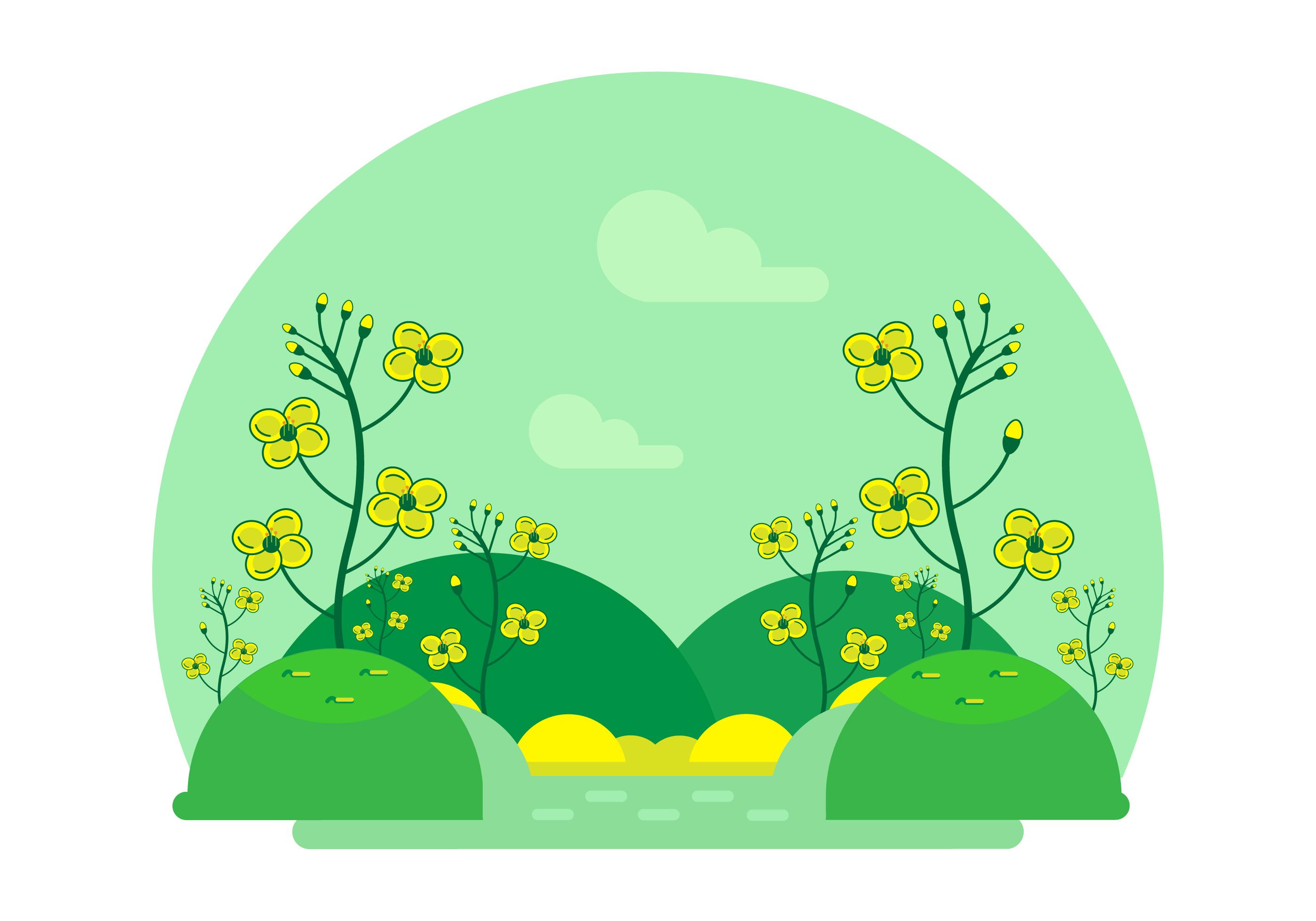 Cartoon Flower Free Vector Art 16984 Free Downloads