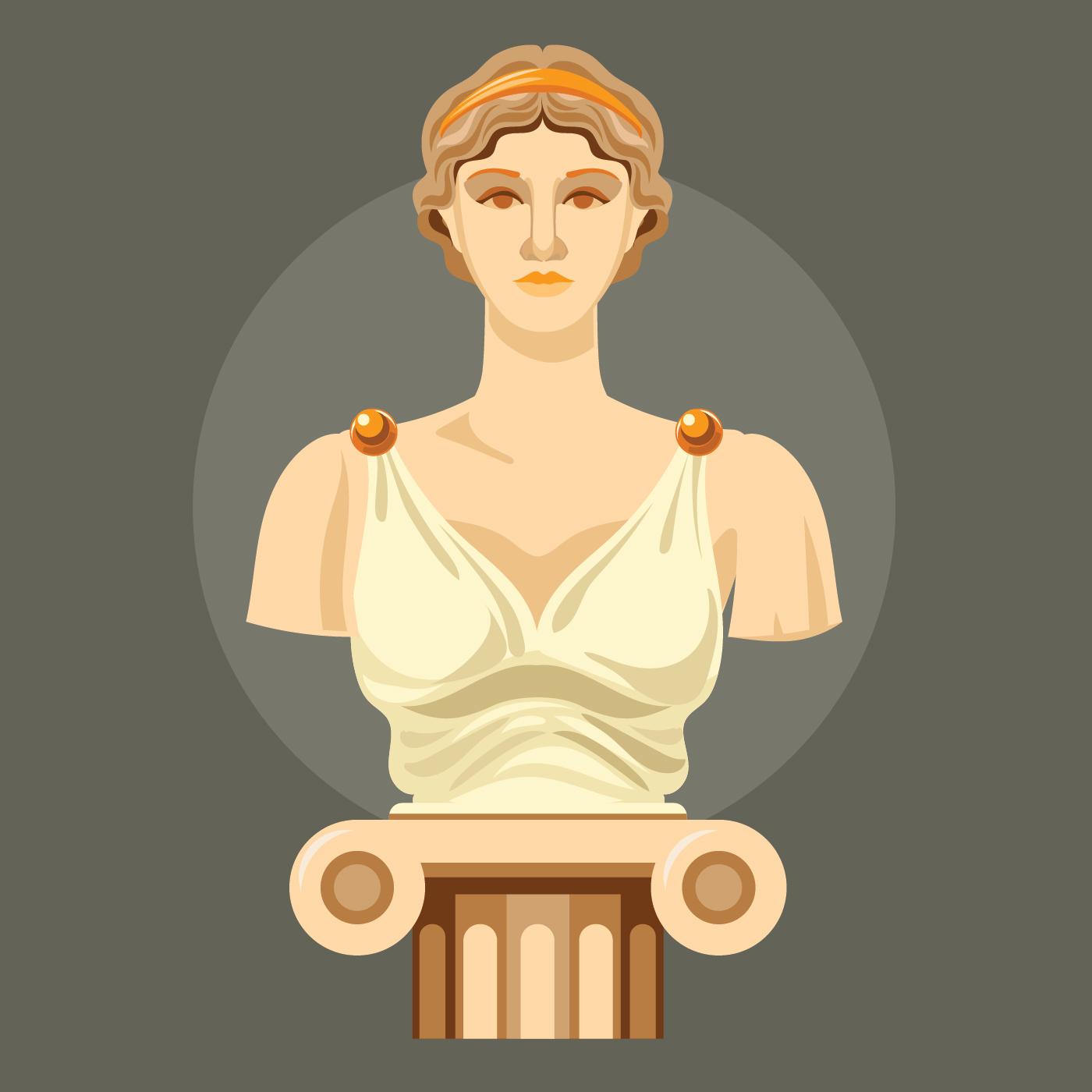 aphrodite goddess symbol - HD1400×1400