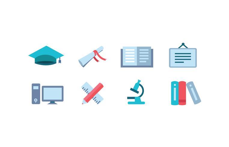 Universitäts-Icon-Paket