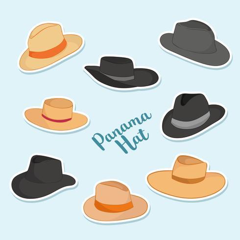 Panama Hat Vector