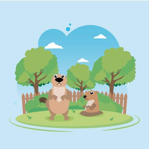 Free Gopher Illustration