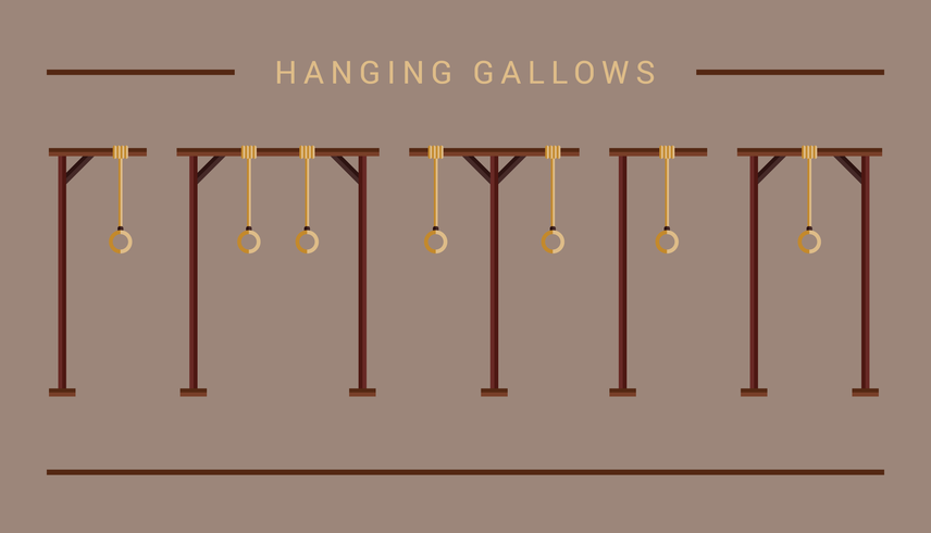 Hanging Gallows Icon