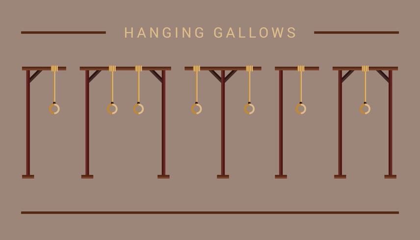 Opknoping galg pictogram