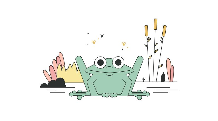 Free Frog Vector