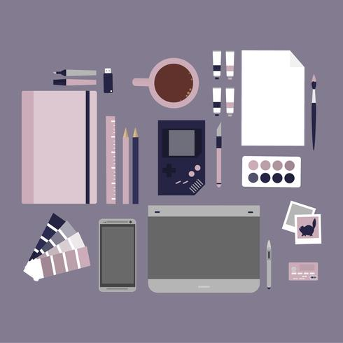 Vector Graphic Designer Elements