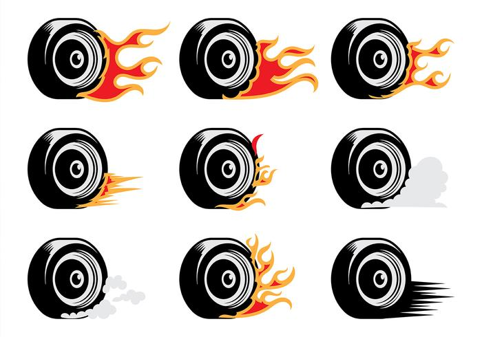 burn-out vector