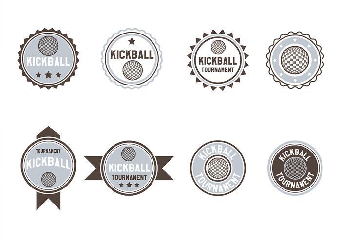 Kickball Vector
