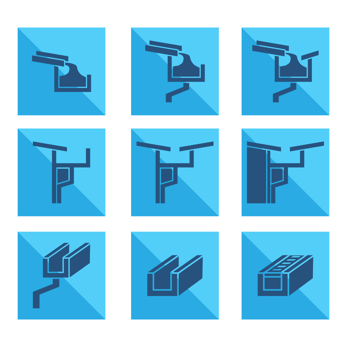 guttering icon