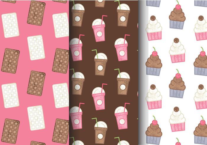 Kostenlose süße Süßigkeiten Muster