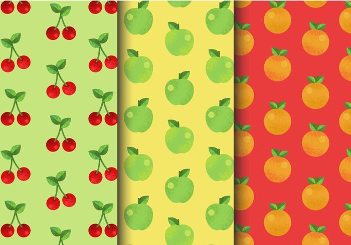 Free Cute Fruit Patterns