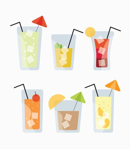 Free Cocktail Drinks Vector