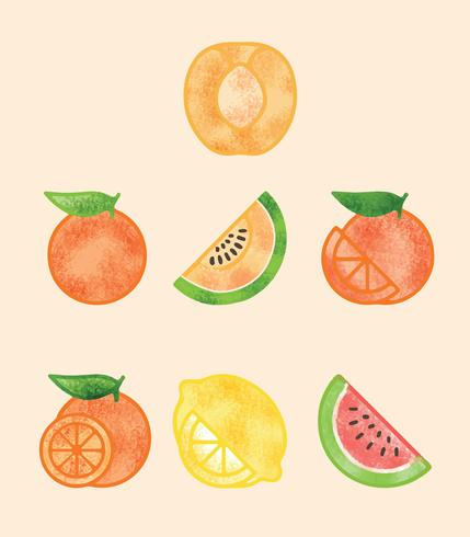 Free Healthy Fruit Vector