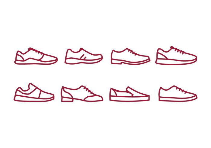 Shoes Icon Pack vector