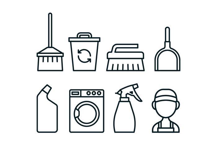 Caretaker verktyg ikon pack