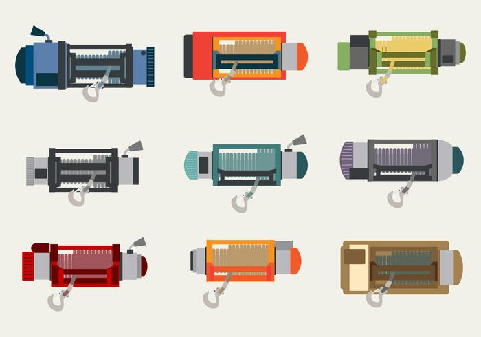 Winch Vector pack