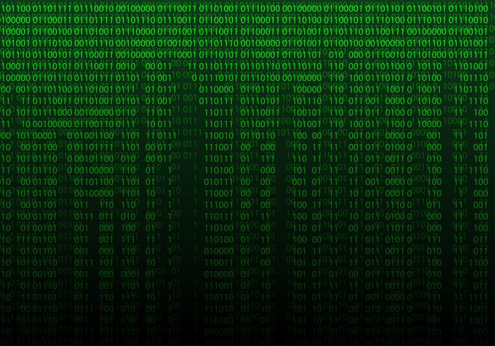 Matrix Background Free Vector