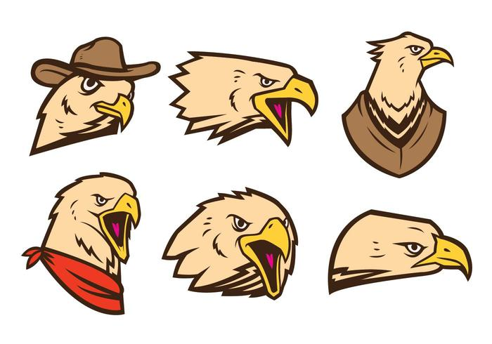 Free Eagles Logo Vector
