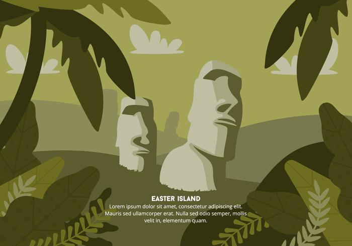 Easter Island Background