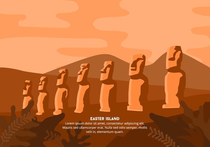 Easter Island Background