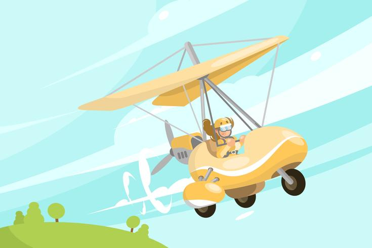 Glider Illustration