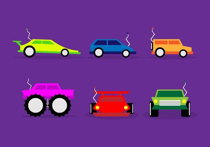 Rc Bilar Illustration Race Vector