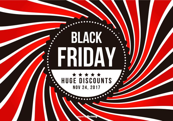 Promotional Black Friday Illustration