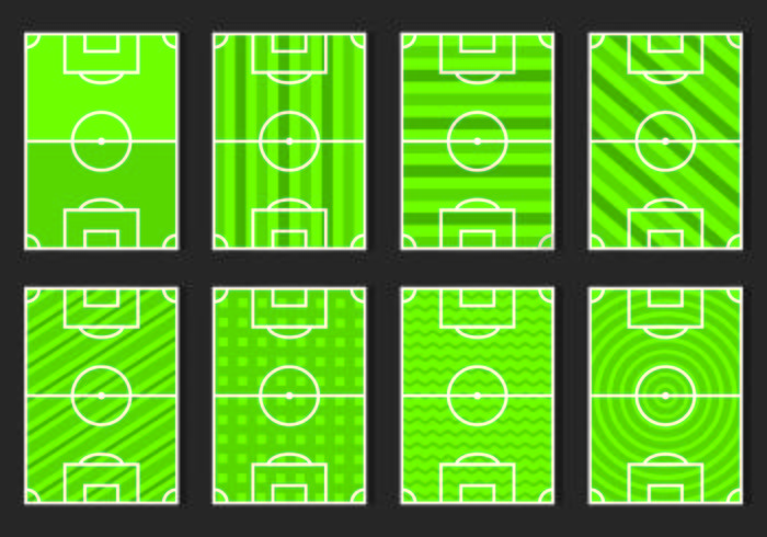 Set Of Football Ground Icon