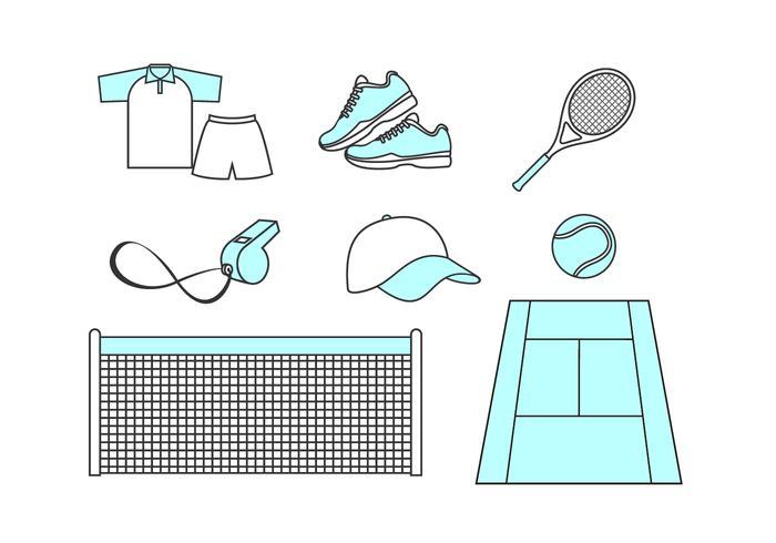 Tennis Kostenloser Vektor
