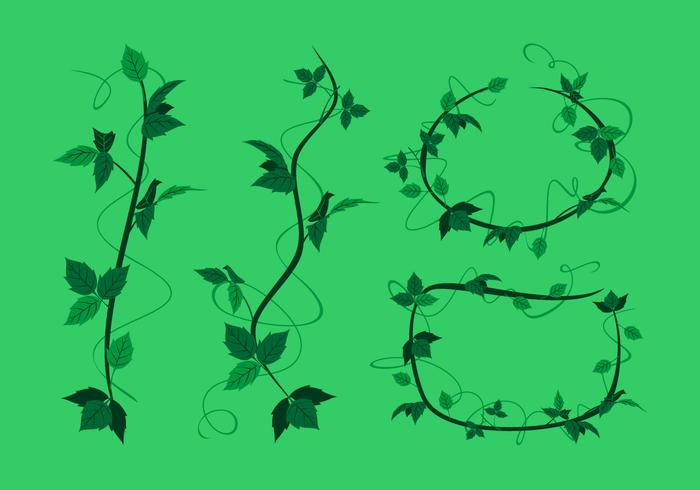 Poison Ivy Trendils Free Vector