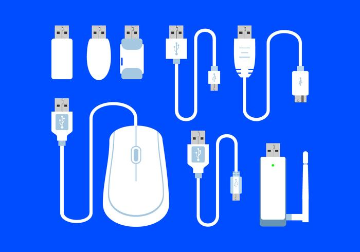 Usb Port Free Vector
