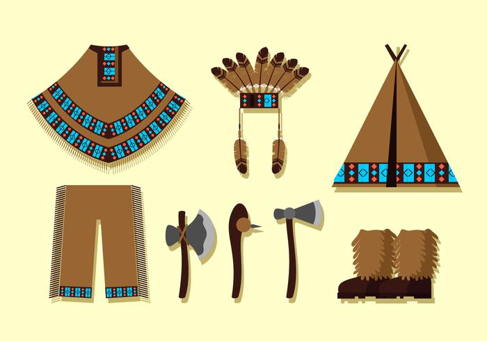 Indian Ponco For Male Free Vector