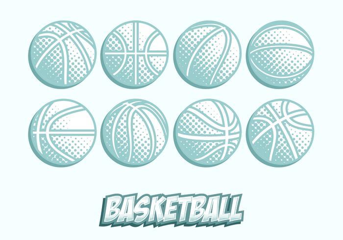 Kostenlose Basketball Textur Vektor