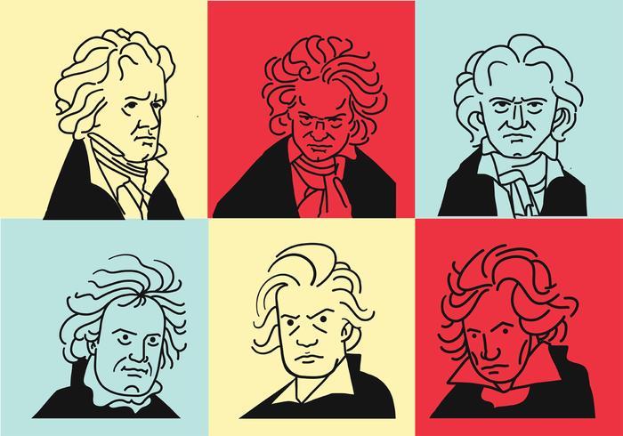 Beethoven Vector Art