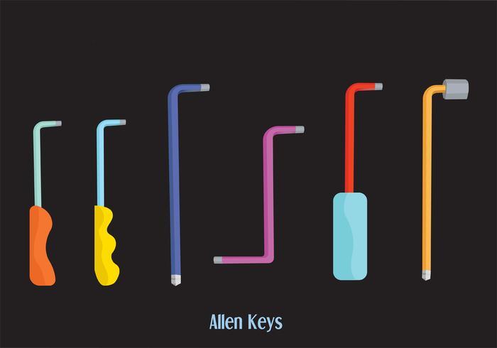 Allen Key Vector Pack