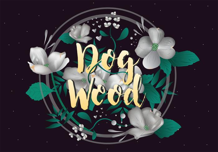 Dogwood Vector Art