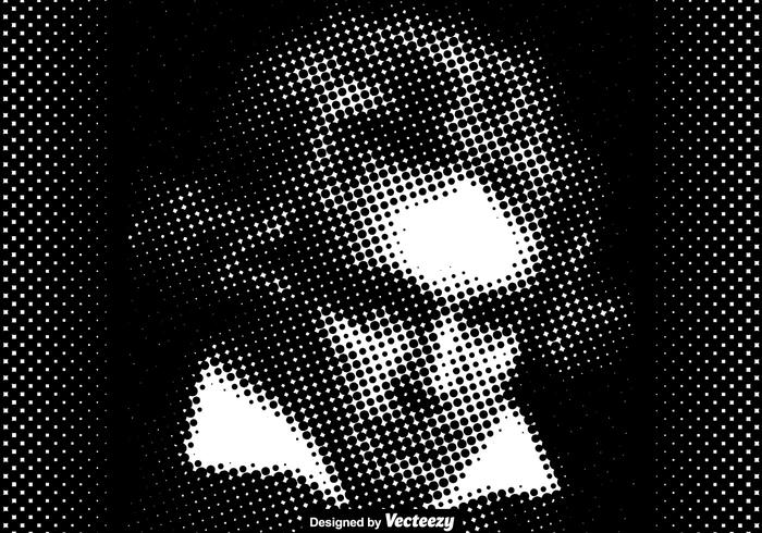 Vector Dotted Beethoven Illustration
