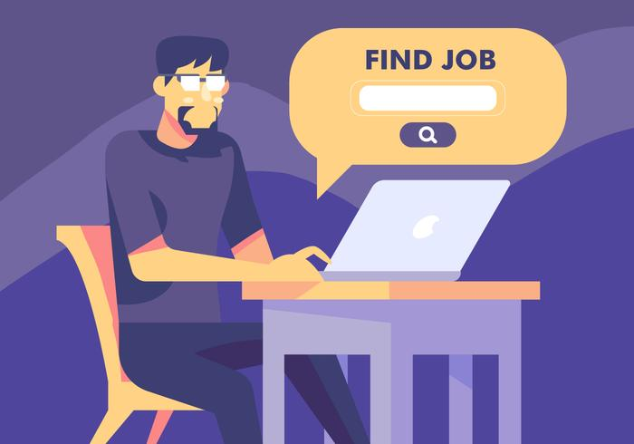 Job Search Via Website