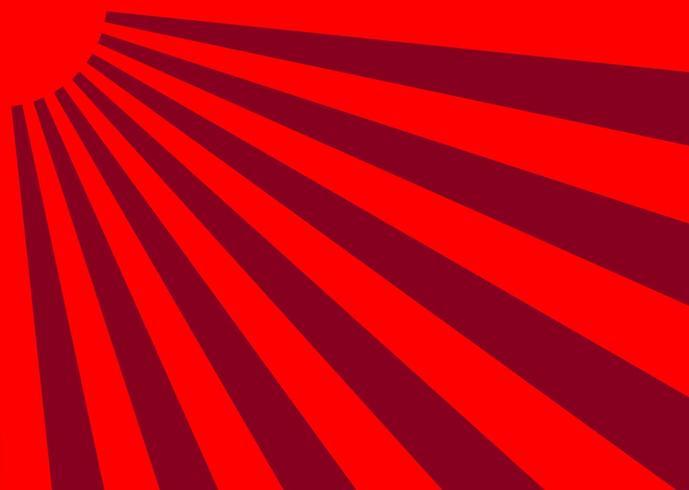 Vector Japan Sunburst Effect Background